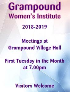Womens Institute 2018-2019